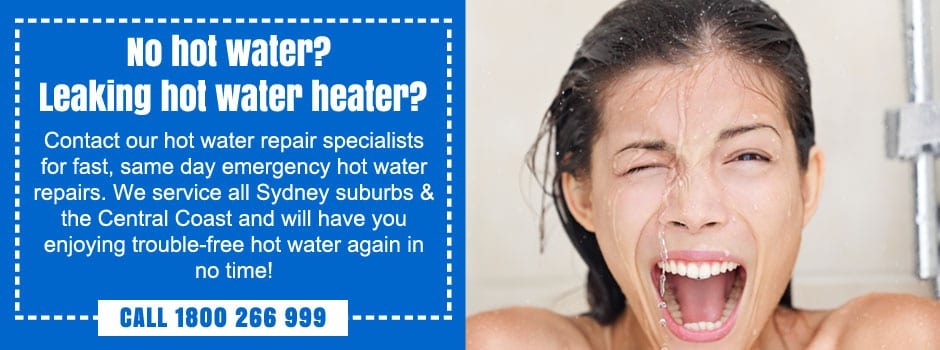 emergency hot water repair sydney
