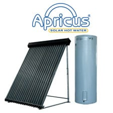 apricus solar water heaters