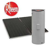 rheem loline solar water heater