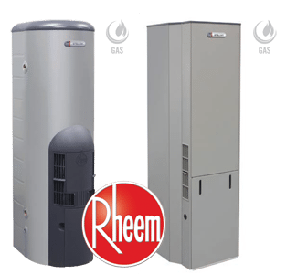 rheem stellar gas hot water heaters