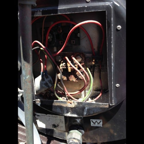 repair solar hot water heater