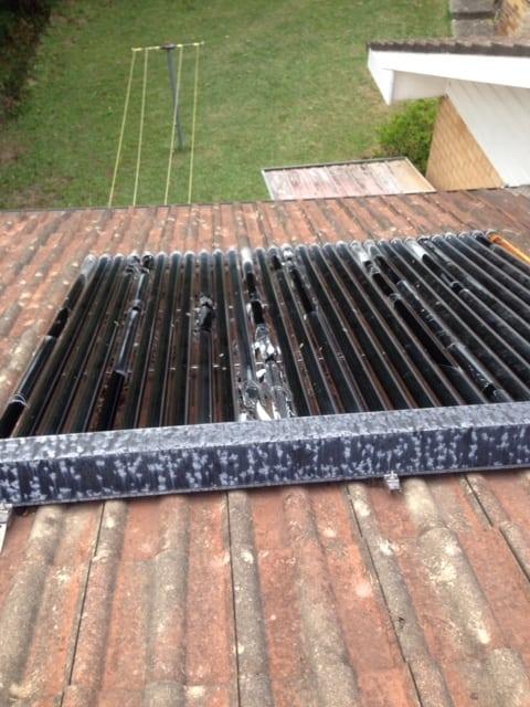 replace broken solar tubes