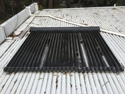 storm damaged solar tubes