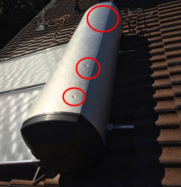 solar hot water system repairs sydney