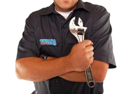 repair hot water system under warranty