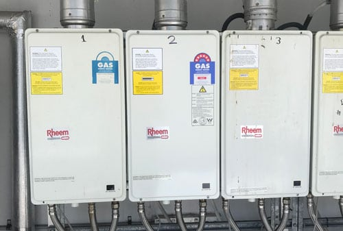 commercial gas instantaneous hot water heaters