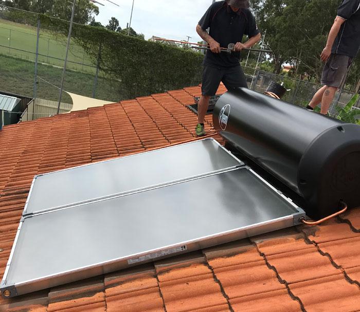repair hail damaged solar panel